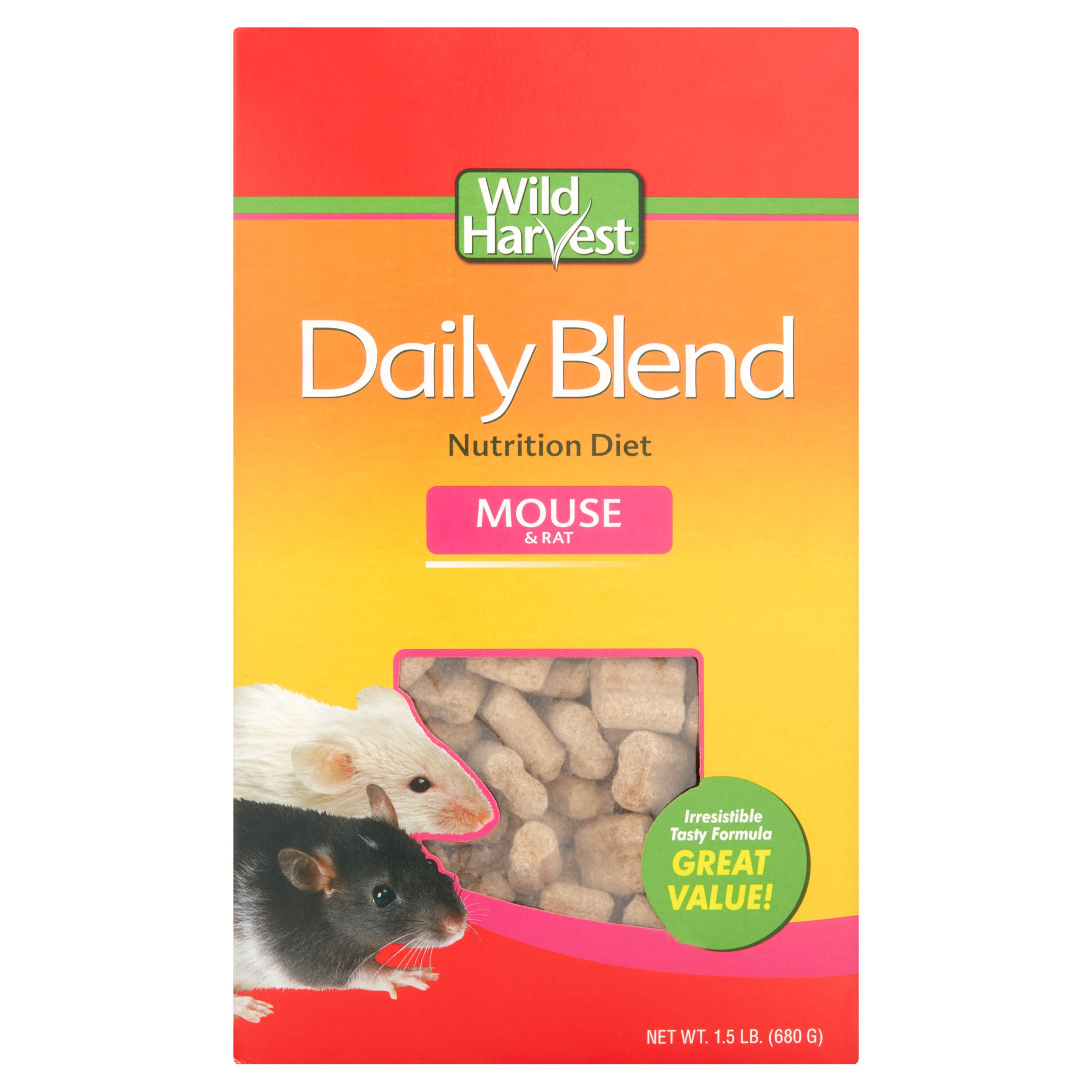 Wild Harvest Mouse and Rat Premium Daily Blend Food, 1.5 lb