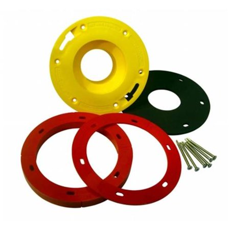 Set-Rite Products SREX-2034Y Toilet Flange Extender Kit