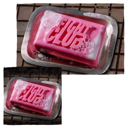 Fight Club Soap Face Hand Towel Combo White