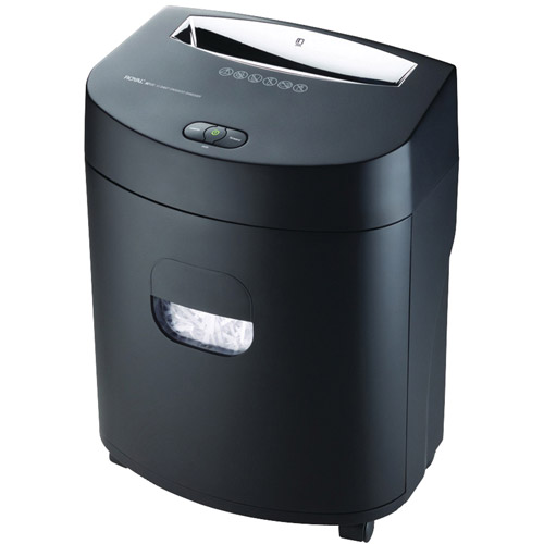 120X Royal 120X Paper Shredder Cross Cut 12 Per Pass 89119W by Royal Consumer