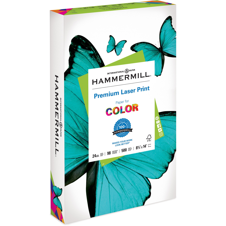 Hammermill, HAM104612, Laser Print Paper, 500 / Ream, White