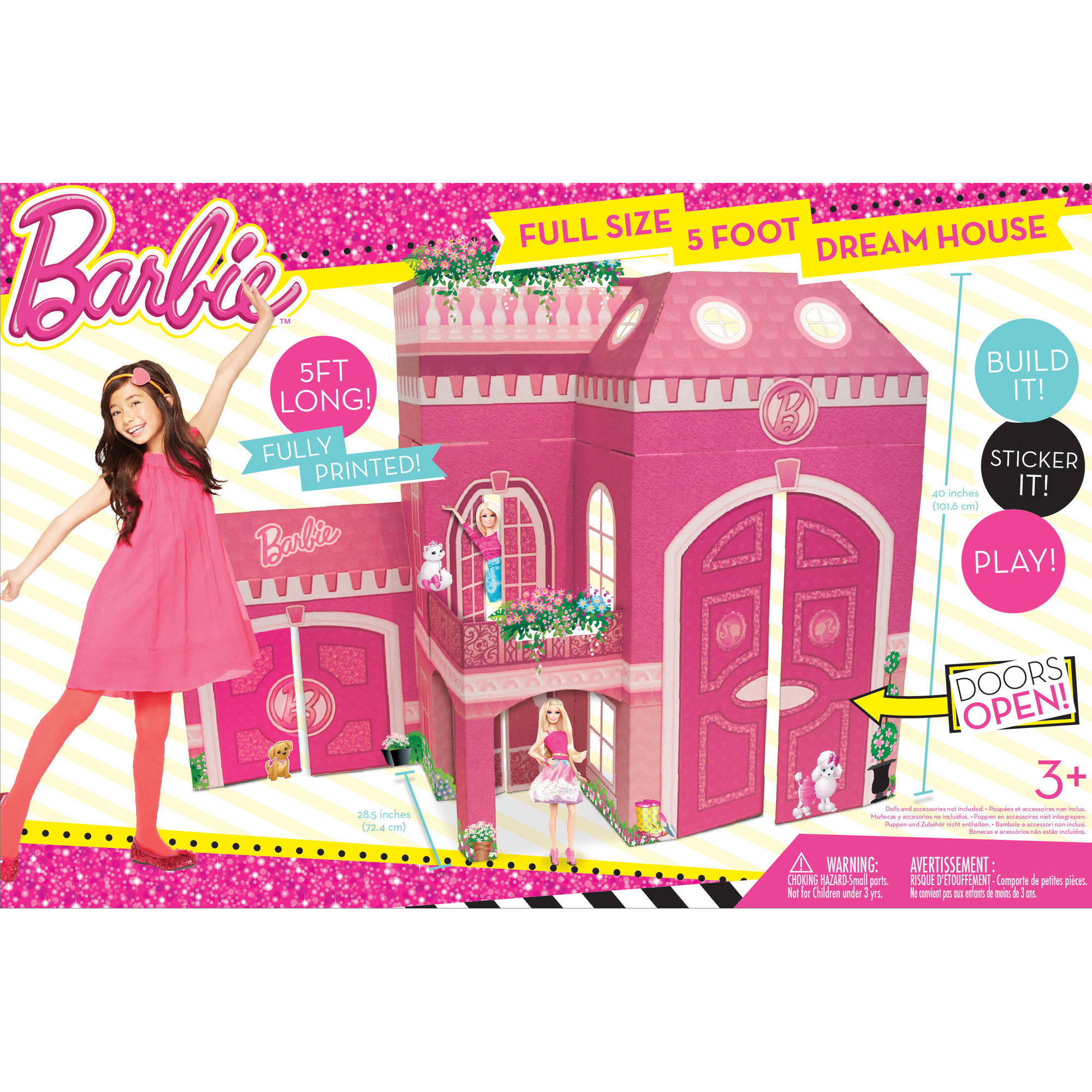 Neat Oh! Barbie Full Size Play House