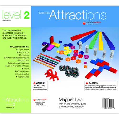 Dowling Magnets Classroom Attractions Kit by Dowling Magnets