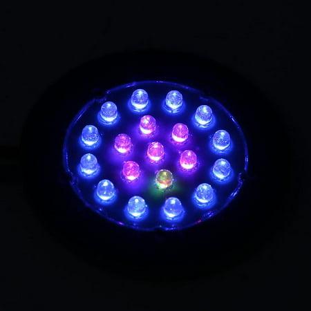 Garosa Réservoir de poissons Pierre de lumière, Réservoir de poissons à LED Pierre, LED Contrôle de la lumière de la lampe à bulles d'air en aquarium Décoration de réservoir de poissons US - image 7 de 8