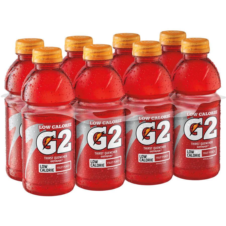 Gatorade G2 Low Calorie Fruit Punch Sports Drink, 8 Ct/160 Fl Oz