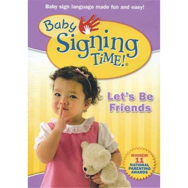 Harris Communications DVD323 Baby Signing Time 4 - Lets Be Friends - DVD