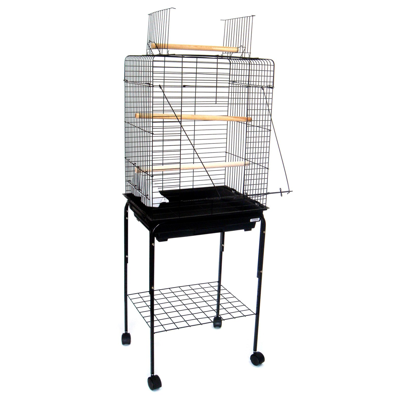 YML Playtop 3 Perch Bird Cage with Optional Stand