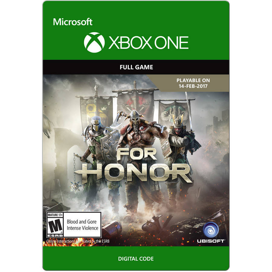 Xbox One For Honor - Pre-Order (email delivery)