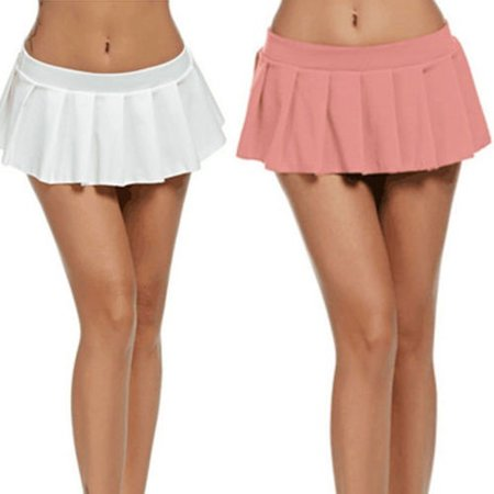 Metallic Bodycon Dress (Women Sexy Lingerie Dance Club Skirt Mini Dress Bodycon Metallic polyamid Skirts)