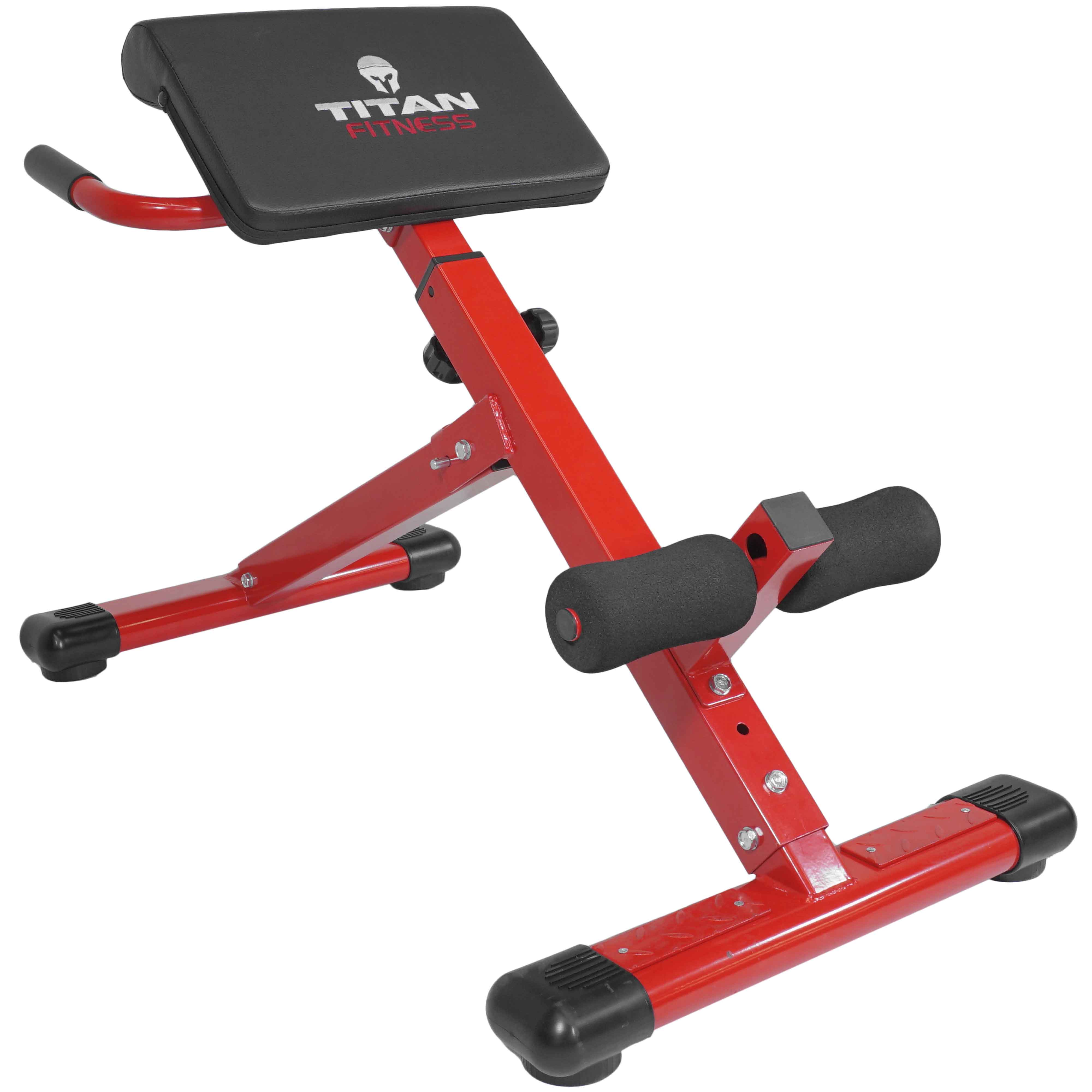 Titan Abs Back Hyper Extension Exercise Bench Roman Chair...