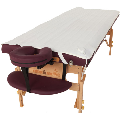 "Ironman 30"" Ventura Massage Table with Heating Pad and Carry Bag"