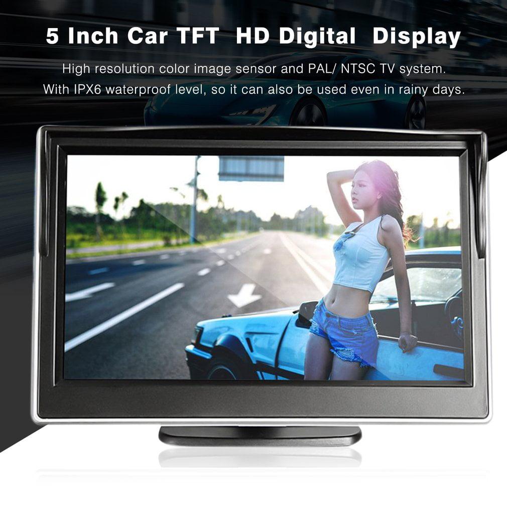 5 Inch Car TFT LCD HD Digital 800*480 Screen Display Rear View Mirror Monitor
