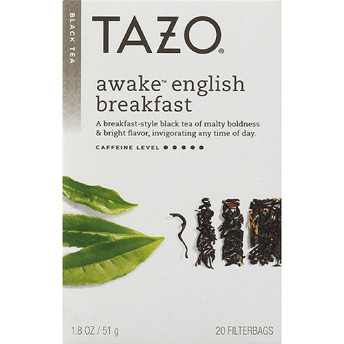 Tazo Tea Awake English Breakfast Tea, 20ct (Pack of 6)