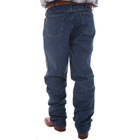 Relaxed Tapered (Cinch Apparel Mens  Green Label Original Fit Dark Stonewash Jeans )