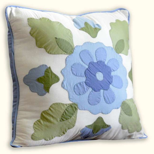 Nostalgia Home Fashions Brenda Cotton Throw Pillow