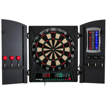 Bullshooter by Arachnid Cricket Maxx 1.0 Electronic Dartboard Cabinet Set