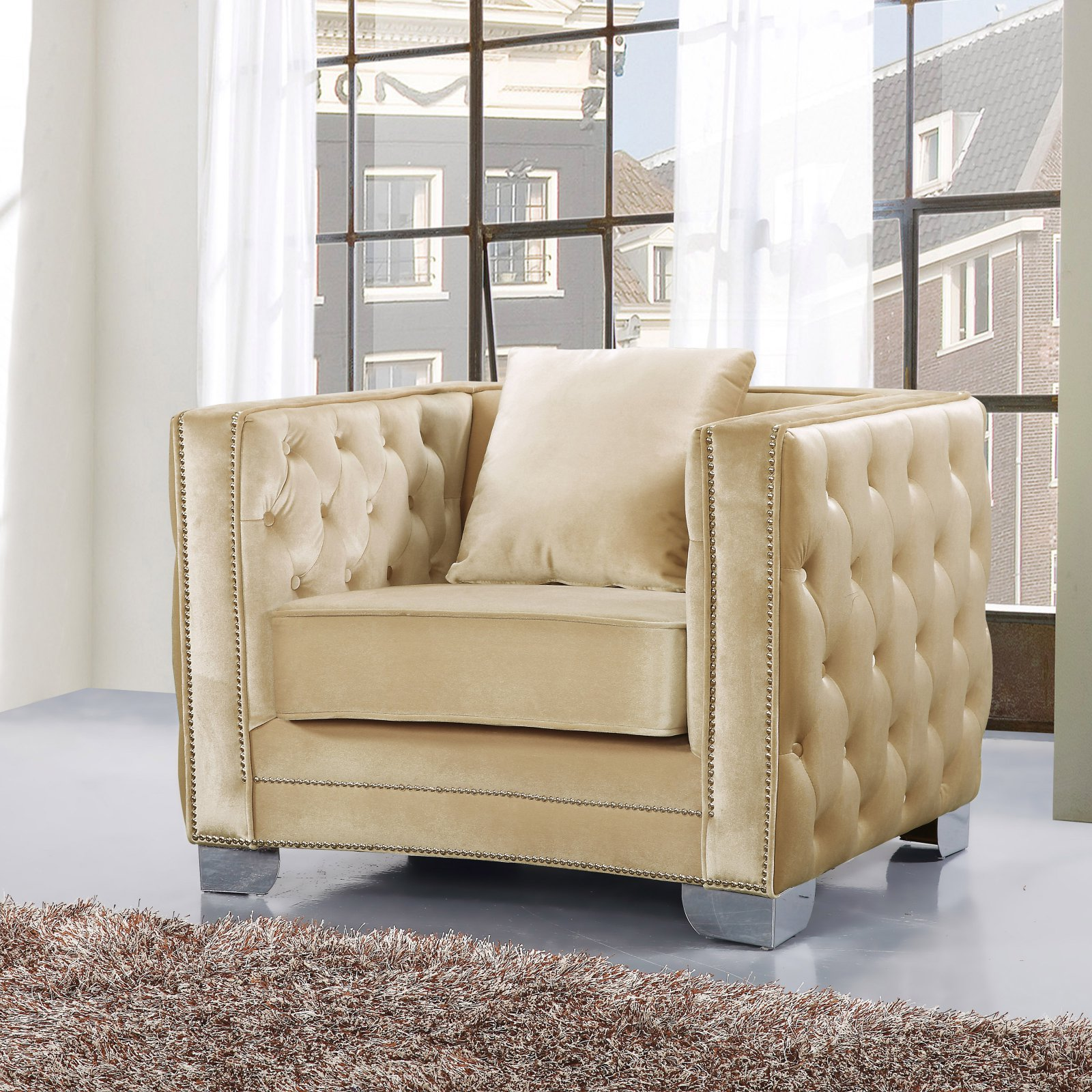 Meridian Furniture Inc Reese Club Chair