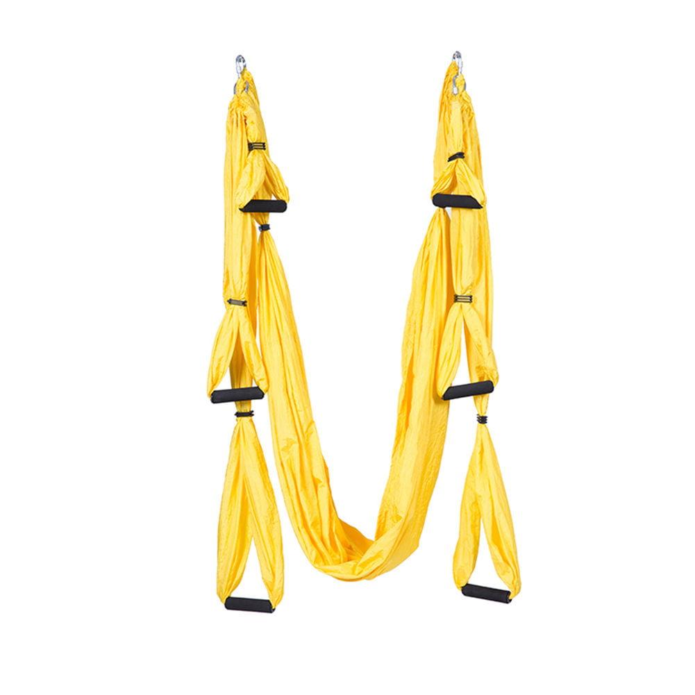 ELEOPTION New Fashion Yoga Swing Sling Hammock Trapeze For Joyful Yoga Inversion Tool, Ultra Strong Antigravity Yoga Hammock Yoga Swing for Flying Inversion Exercise