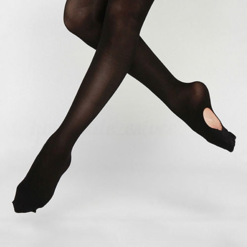 Fashion Kids /& Adults Convertible Tights Dance Stocking Socks Ballet Pantyhose