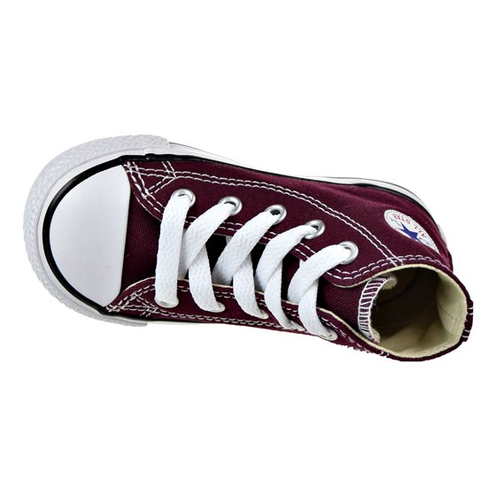 aca52129d28d7c Converse - Converse Chuck Taylor Hi Toddler Shoes Burgundy 739784f -  Walmart.com