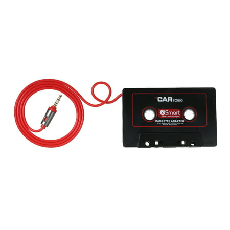 Audio AUX Car Cassette Tape Adapter Converter 3.5MM Fit for IOS Andriod Phone MP3 ()