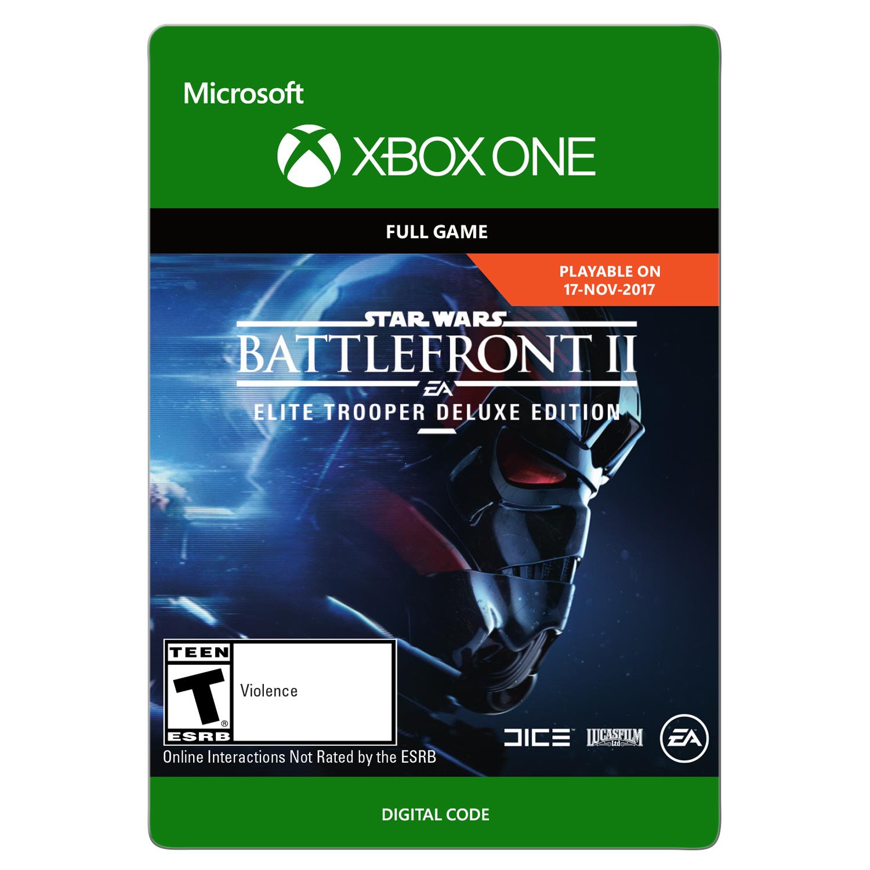 Star Wars Battlefront II: Elite Trooper Deluxe Edition, Electronic Arts, Xbox One [Digital Download]