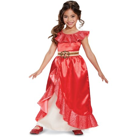 Disney Elena of Avalor Adventure Dress Deluxe Costume - Disney Deluxe Costumes