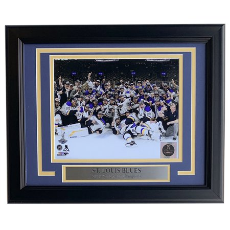 St. Louis Blues Framed 8x10 Stanley Cup Champions Team Photo