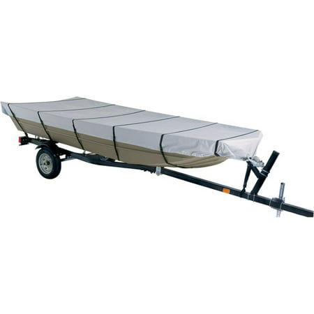 Hurricane Boat Cover - Harbor Master 300-Denier Polyester Jon Boat Cover, Gray