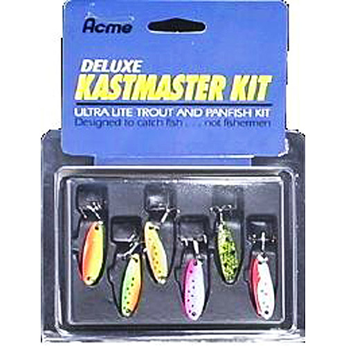 Acme 6-Piece Deluxe Kastmaster Lure Kit