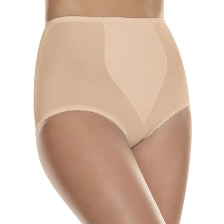 Hanes Women's Smoothing Brief with Tummy Control Panel 2-Pack
