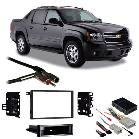 Fits Chevy Avalanche 03-06 Double DIN Stereo Harness Radio Install Dash Kit (Chevy Avalanche Radio)