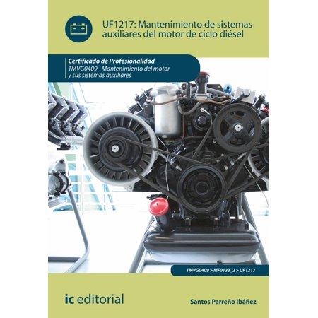 Mantenimiento de sistemas auxiliares del motor de ciclo diésel -