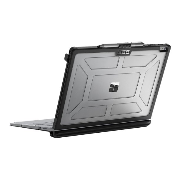 "UAG ICE - Notebook top and rear cover - 13.5"" - black, ice - for Microsoft Surface Book, Book 2 (13.5 in), Book with Performance Base"