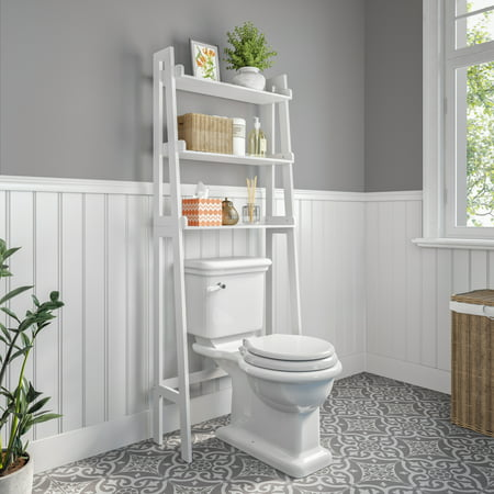 RiverRidge Amery Collection - Ladder Spacesaver- White Collection Space Saver