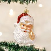 Old World Christmas Night Before Santa Glass Blown Ornament