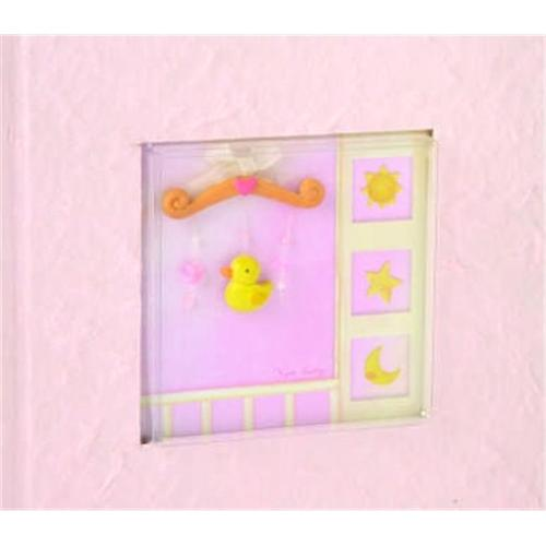 Beverly Clark 203BG 100 Photo Baby Album - Pink