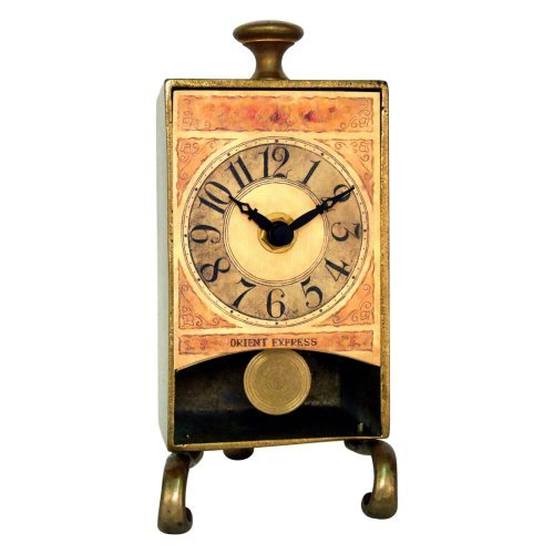 New Haven Brass Anniversary Table Pendulum Clock