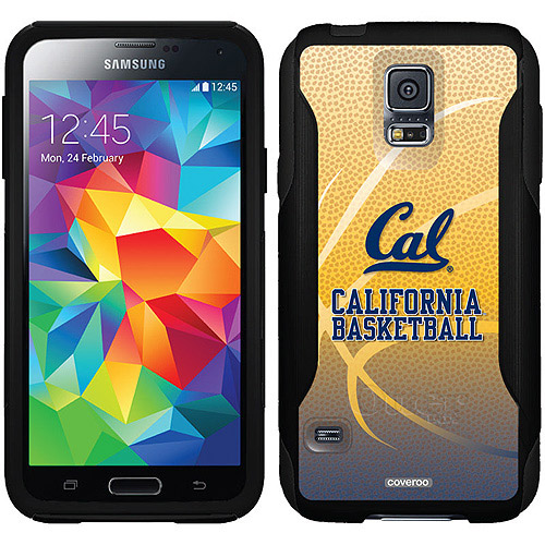 UC Berkeley Basketball Design on OtterBox Commuter Series Case for Samsung Galaxy S5
