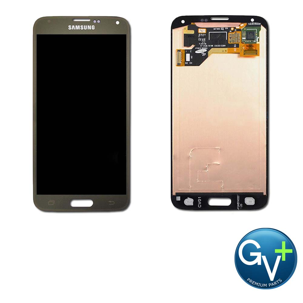 OEM Touch Screen Digitizer and AMOLED for Samsung Galaxy S5 - Copper Gold (SM-G900)