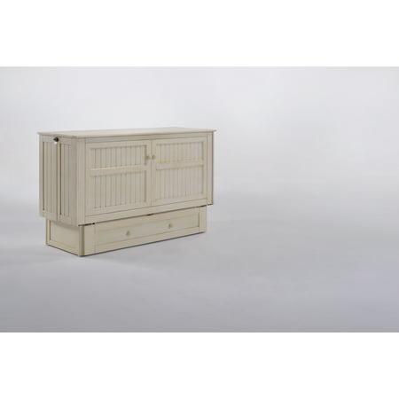 Night Day Furniture Daisy Murphy Cabinet Memory Gel Foam Tri Fold Mattress
