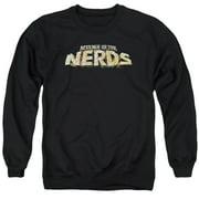 Revenge Of The Nerds Logo Mens Crewneck Sweatshirt