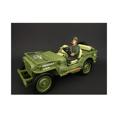 US Army WWII Figure IV For 1:18 Scale Models by American Diorama