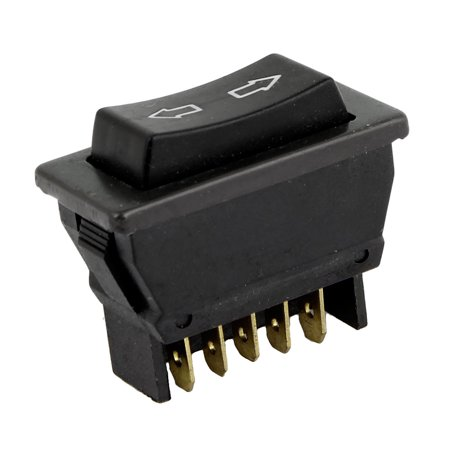 Passenger Power Window Switch 5 Pins Repair Accessory Black for Automobile - Power Window Switch Repair