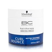 Schwarzkopf BC Bonacure Curl Bounce Treatment for Curly & Wavy Hair, 200ml/6.8 oz