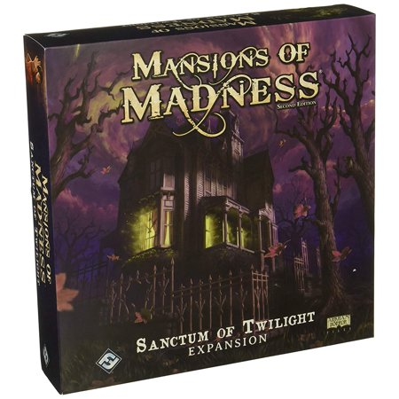 Mansions of Madness: Sanctum of Twilight Expansion, Sanctum of Twilight is an expansion for mansions of madness, challenging one to five players to.., By Fantasy Flight