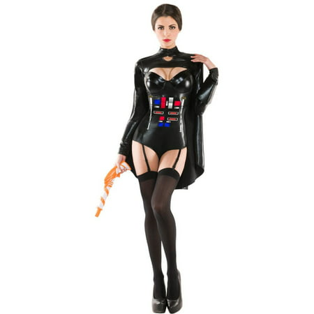 Adult Ruthless Galactic Empress Sexy Costume - Galactic Marine Costume