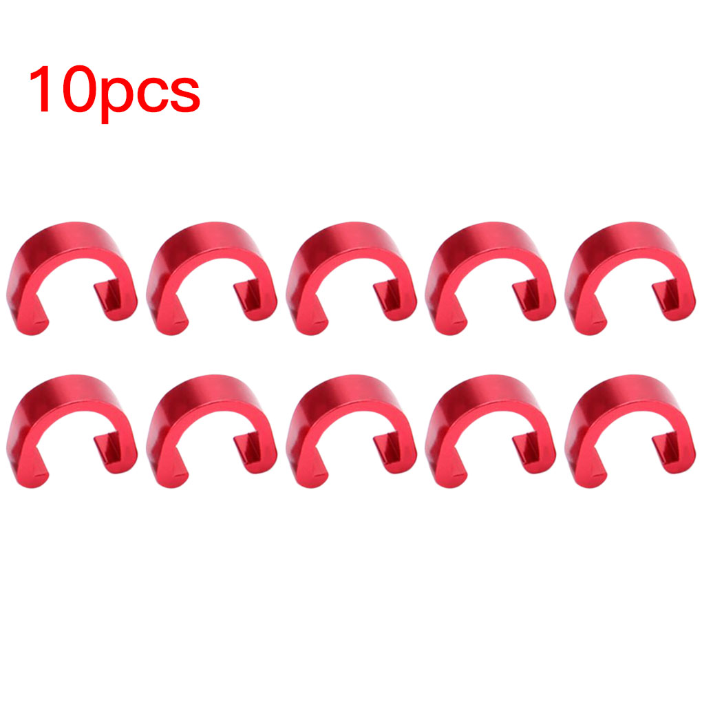Cable Fixed Clamp Clips C Shape Buckle Bicycle C Clips Fixed Tubing Clips