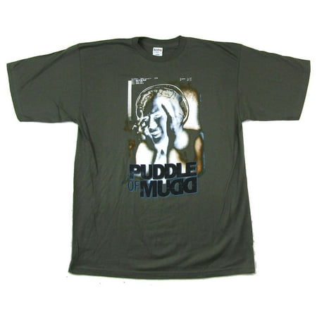 Puddle Of Mudd Out Of My Head 2002 Tour Green T Shirt