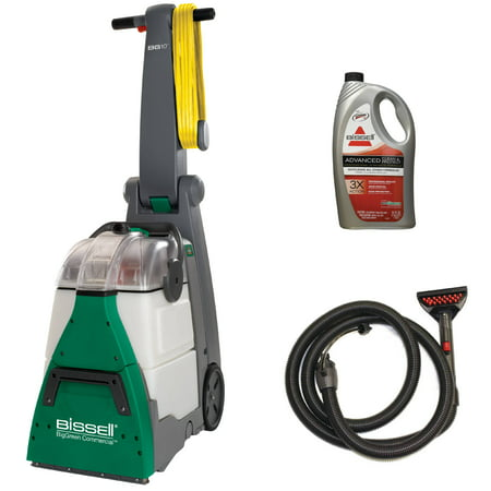 Bissell Upholstery Tool (Bissell BG10 BigGreen Commercial Shampooer with Upholstery Tool Hose, Shampoo )